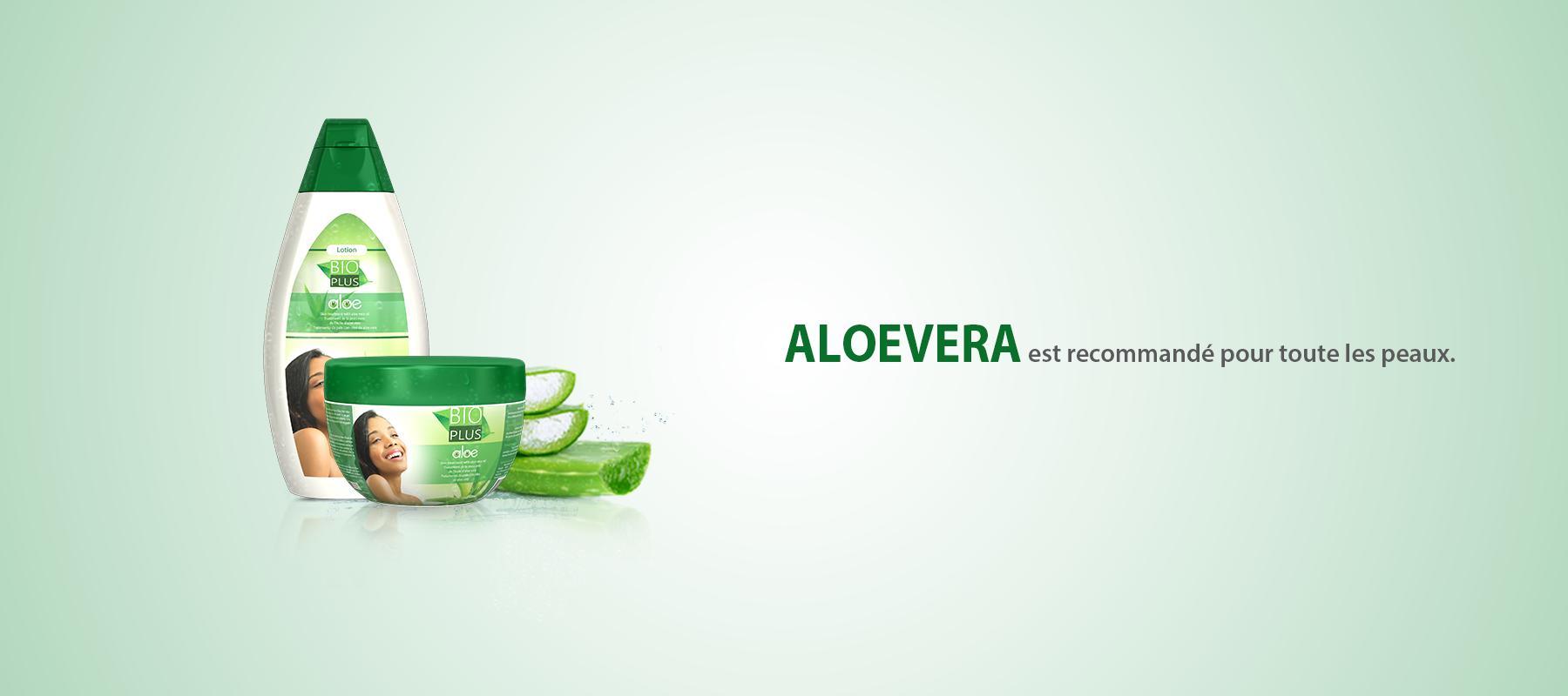 Banner of Bio Plus Aloevera Product