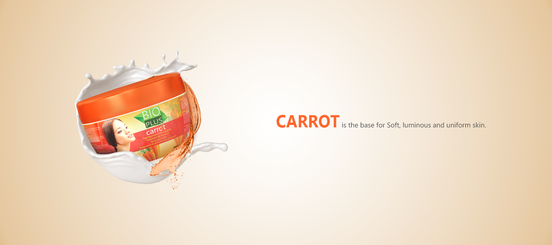 Banner of Bio Plus Carrot Product