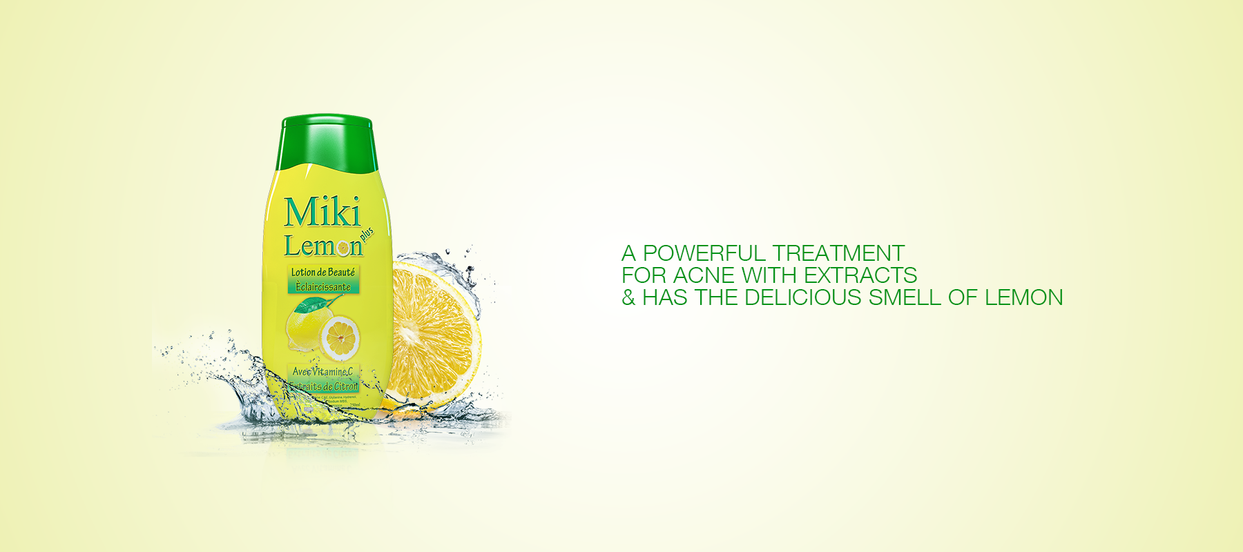 Banner of Miki Lemon Products